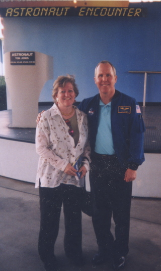 I love all things space and was pleased to meet astronaut Tom Jones. At Kennedy Space Center, I also walked directly underneath space shuttle Endeavour, which was in the repair shop to replace tiles after a flight.